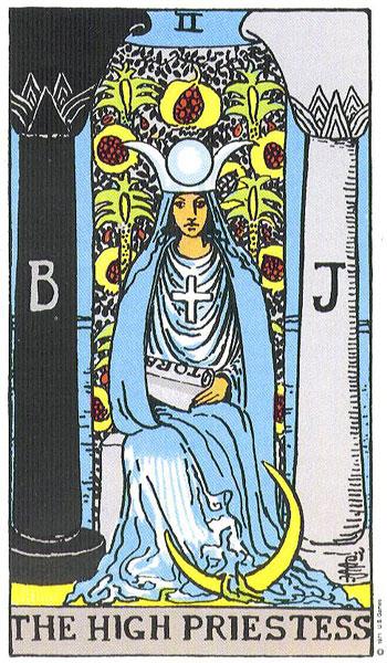 The Rider-Waite Tarot: The High Priestess