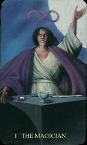 The Witches Tarot: The Magician